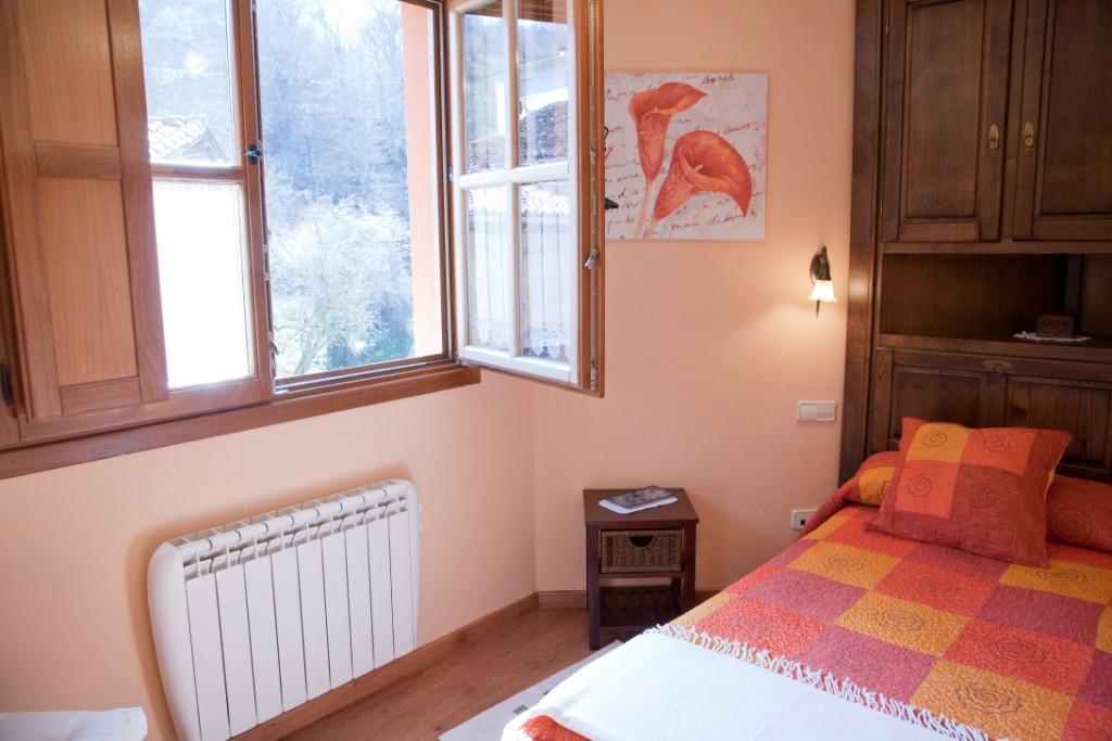 habitación desde Braña Vigidel